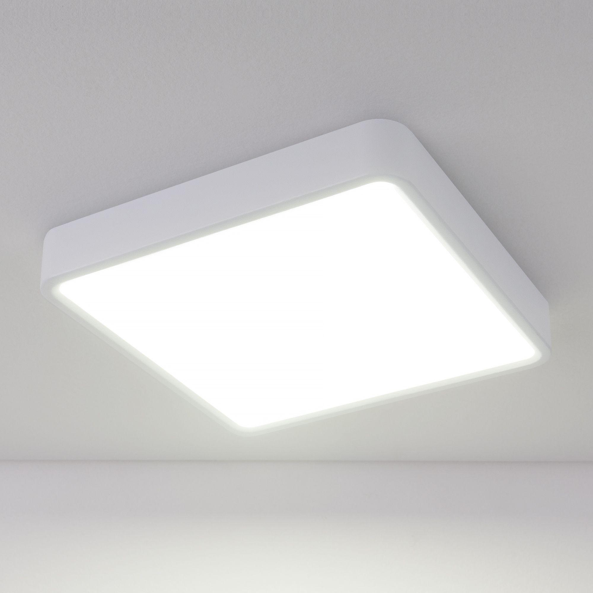 Накладной светодиодный светильник DLS034 18W 4200K