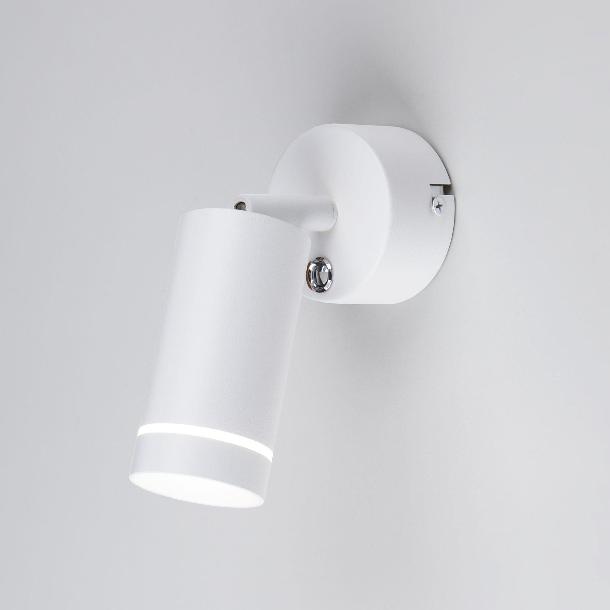 Настенный светодиодный светильник Glory SW LED MRL LED 1005 белый