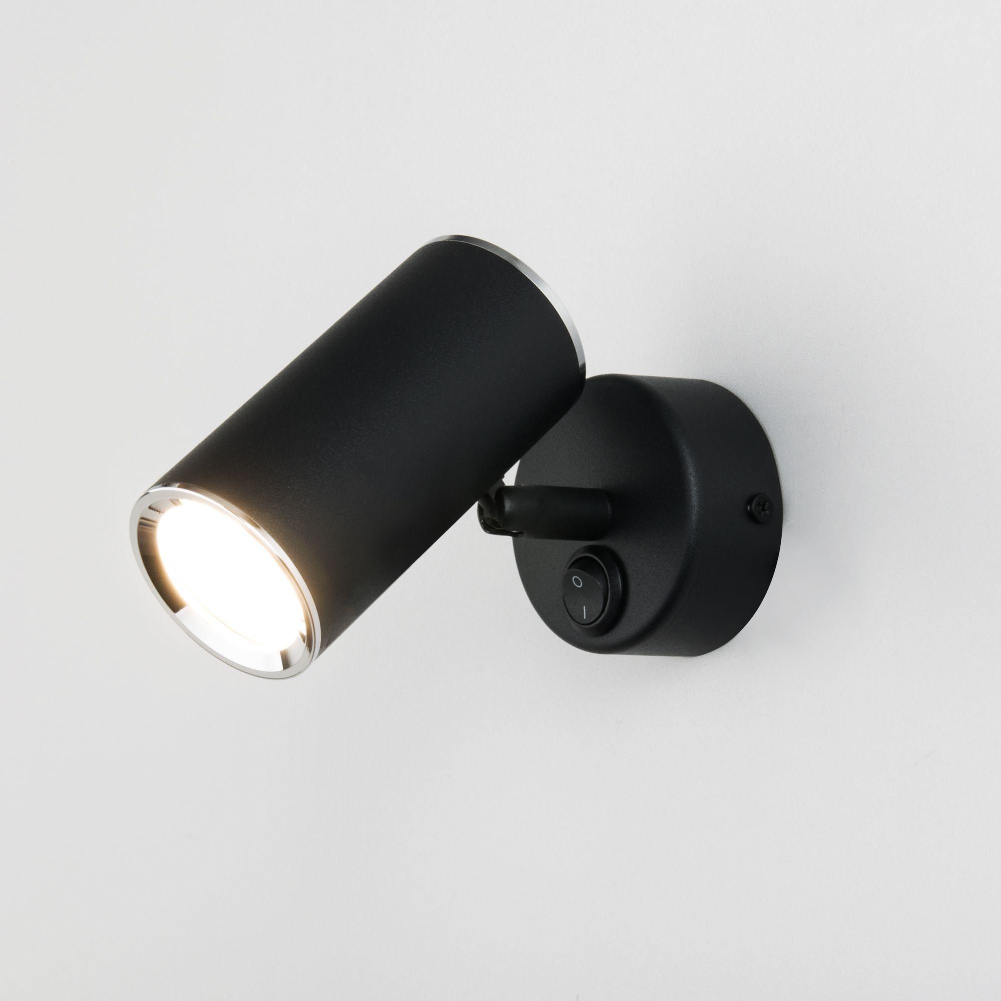 Настенный светильник Rutero GU10 SW MRL 1003 черный