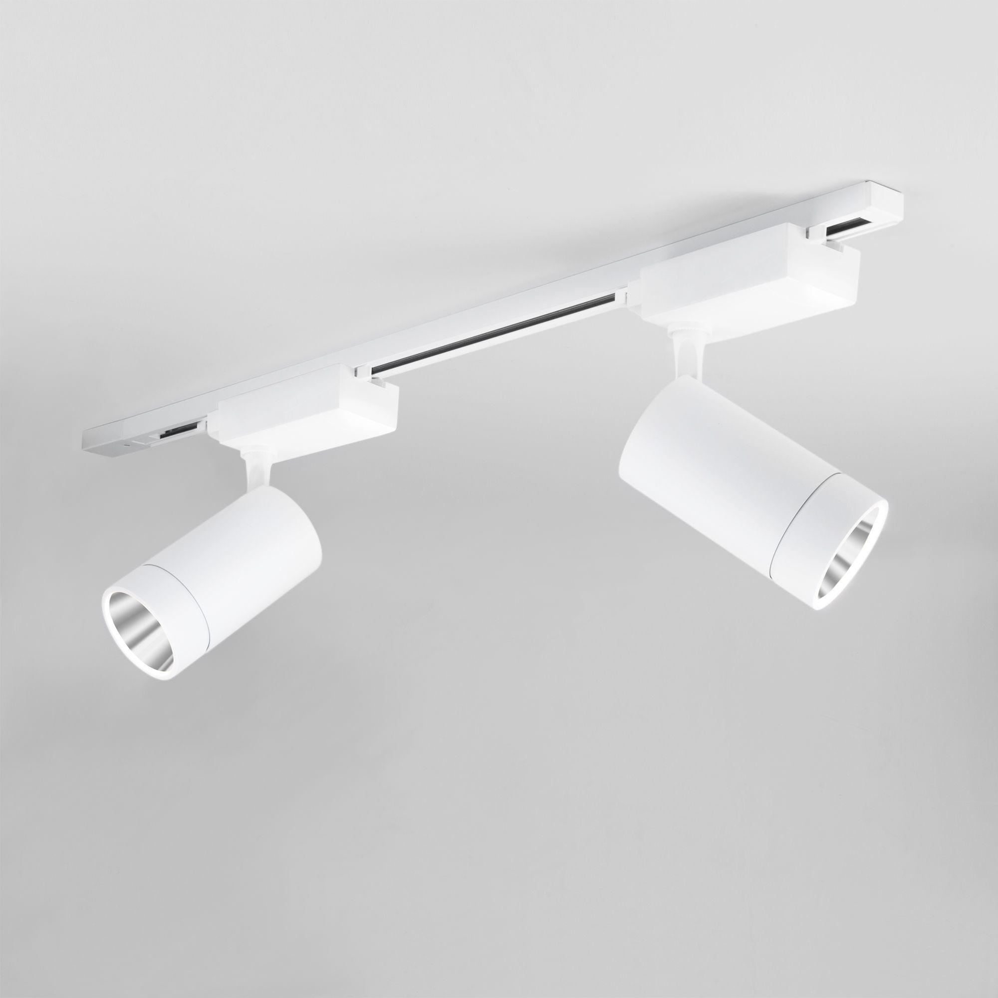 Трековый светодиодный светильник для однофазного шинопровода Baril Белый 40W 4200K LTB47