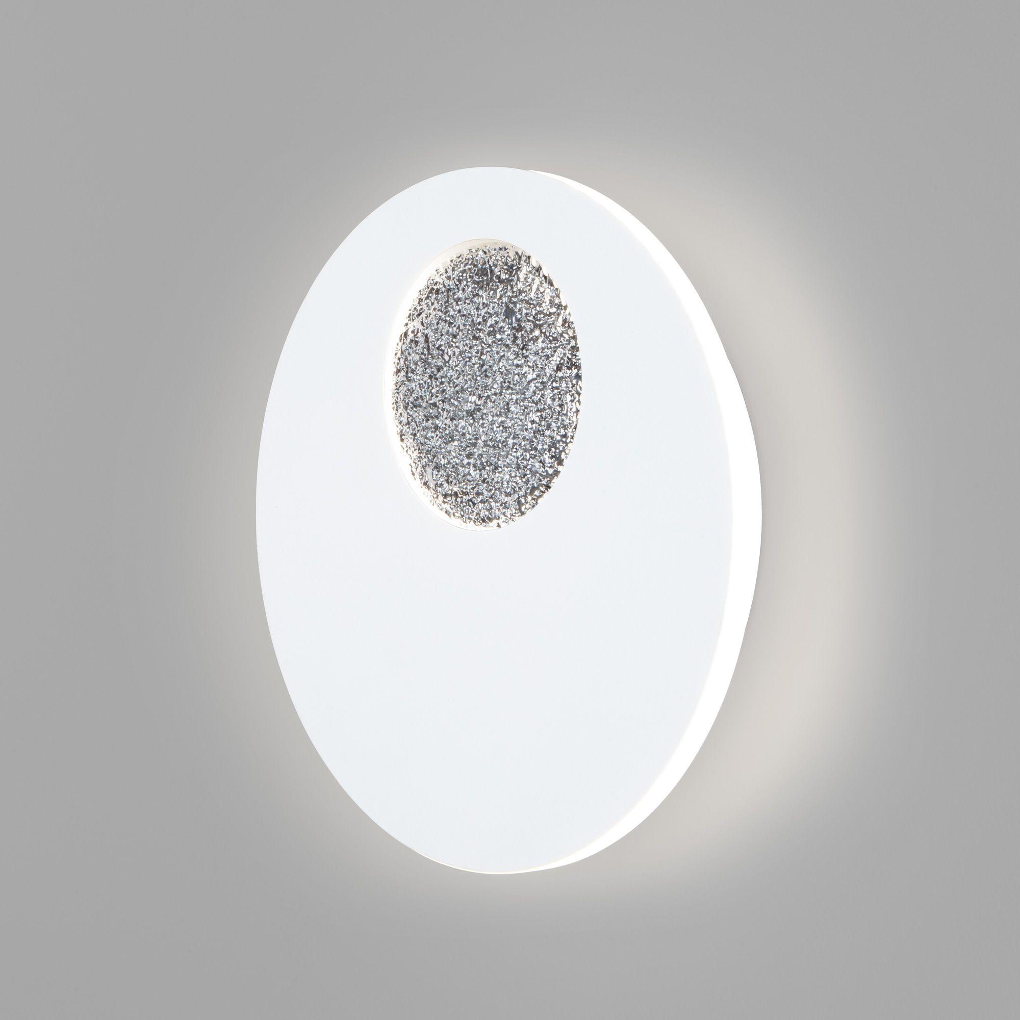 настенный светодиодный светильник 40150/1 LED белый/хром