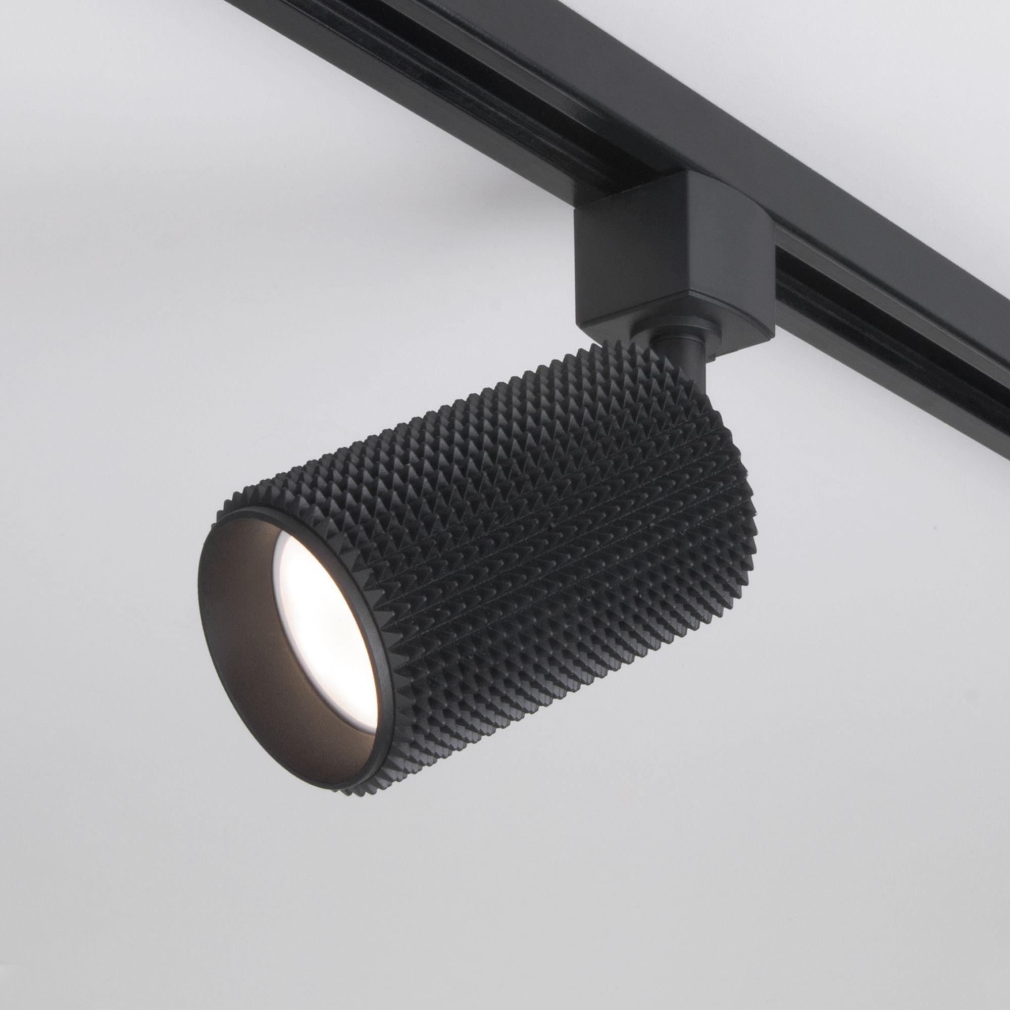 Трековый светильник для однофазного шинопровода Spike GU10 черный MRL 1011