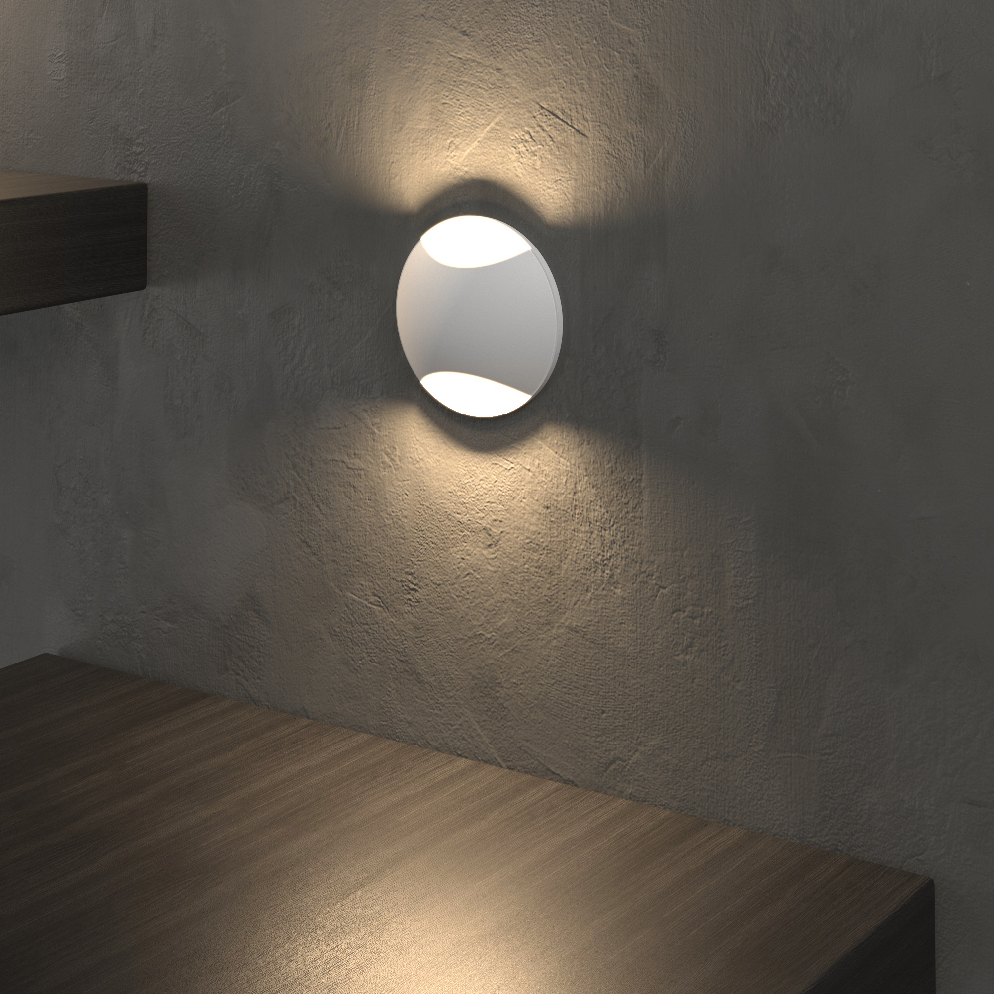 Подсветка для лестниц и дорожек MRL LED 1105 белый