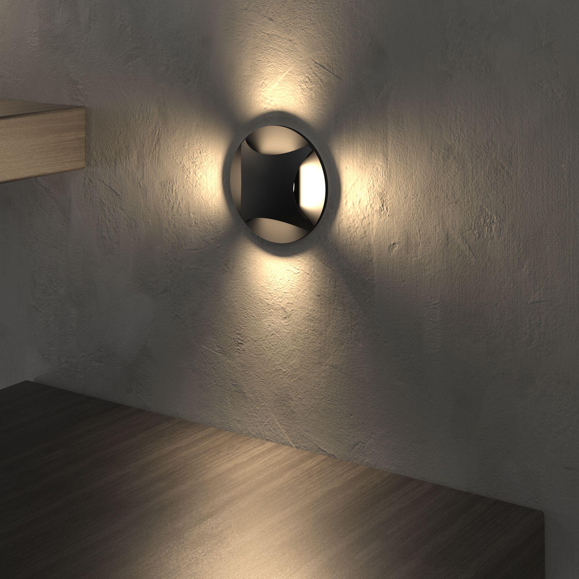 Подсветка для лестниц и дорожек MRL LED 1106 чёрный