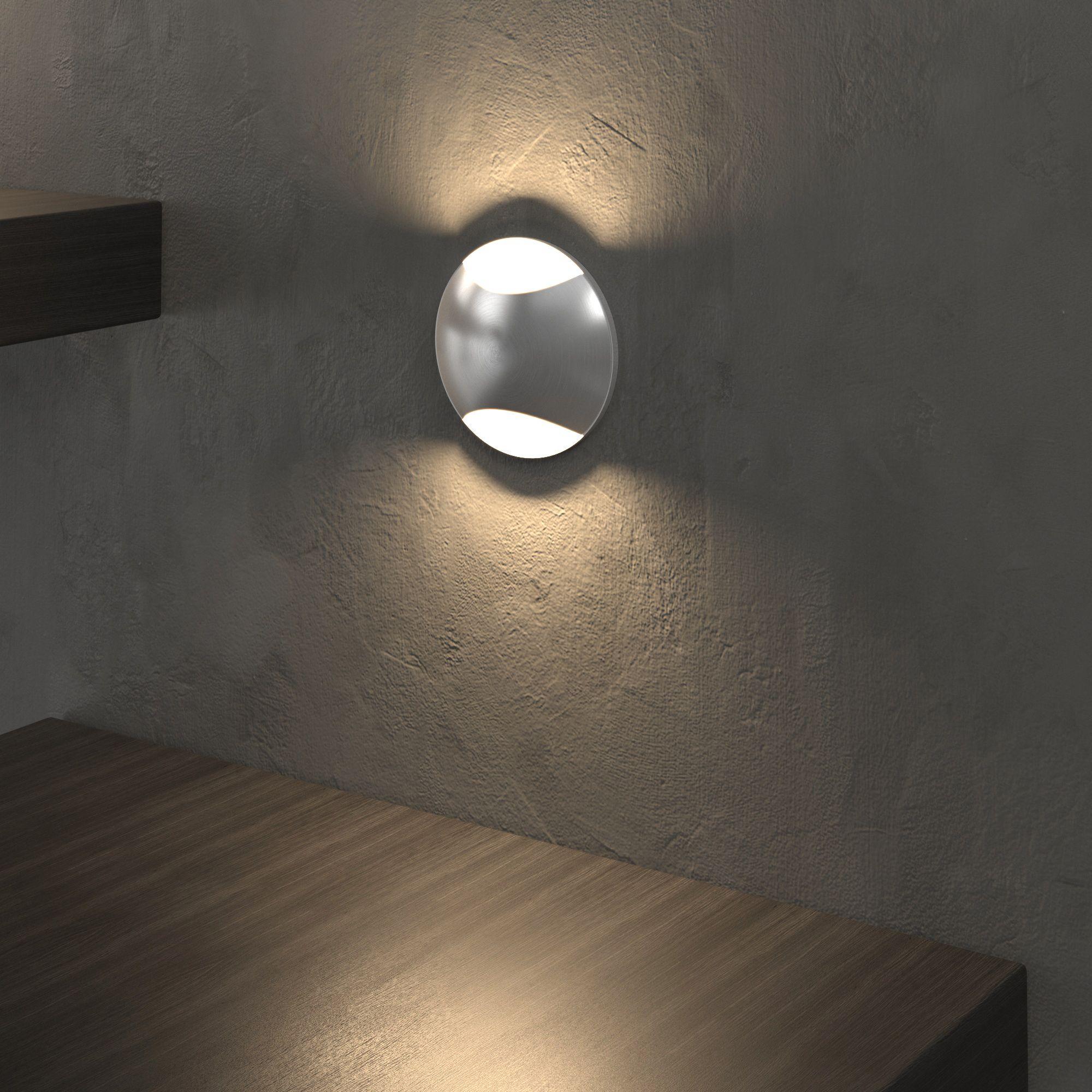 Подсветка для лестниц и дорожек MRL LED 1105 алюминий