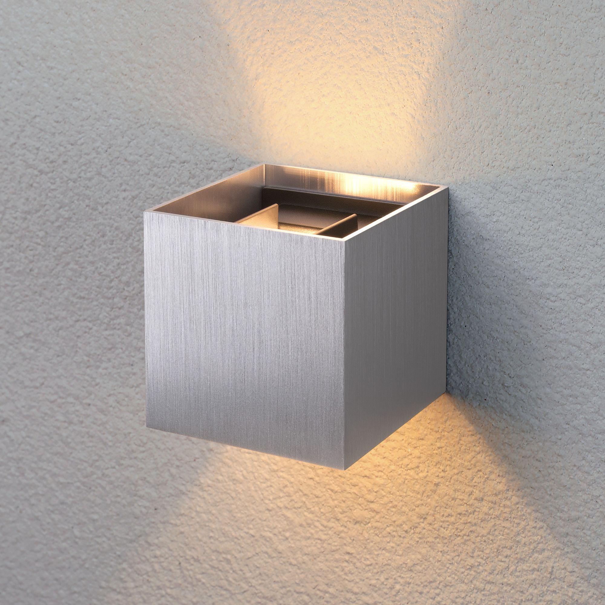 Уличный настенный светодиодный светильник 1548 TECHNO LED WINNER алюминий 1548 TECHNO LED WINNER алю