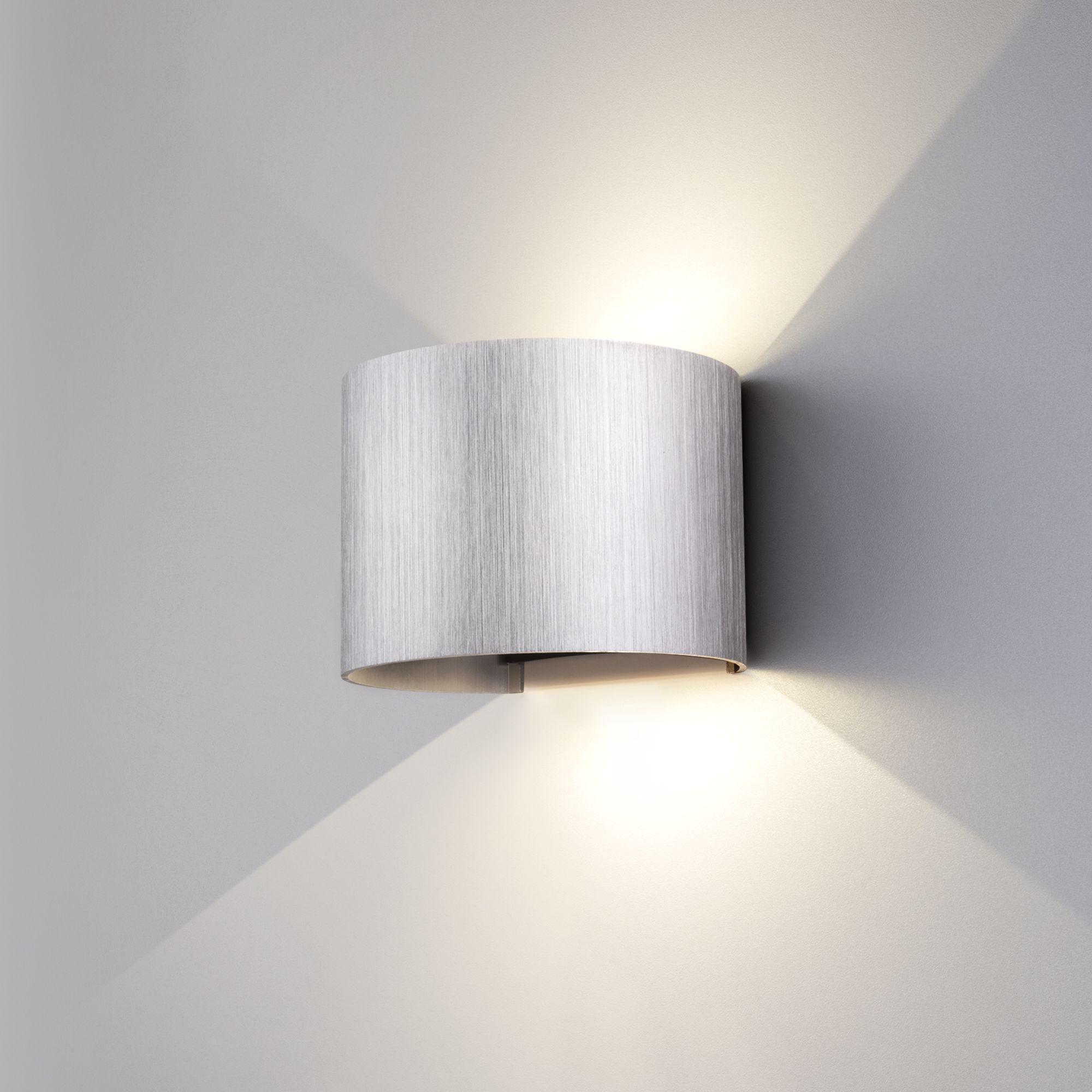 Уличный настенный светодиодный светильник 1518 TECHNO LED BLADE алюминий 1518 TECHNO LED