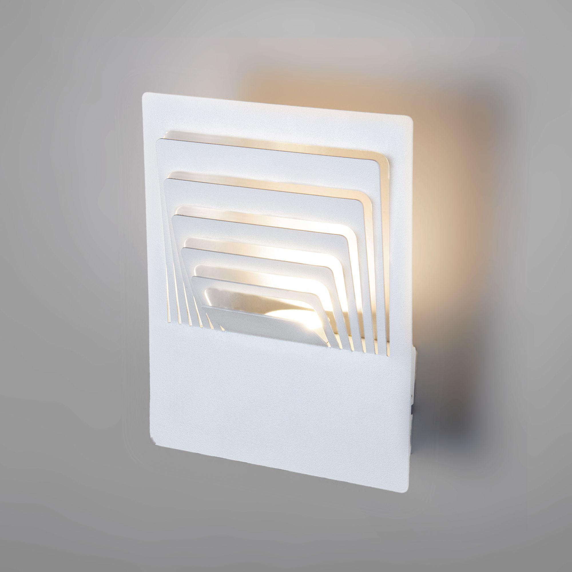 Настенный светодиодный светильник Onda LED MRL LED 1024 белый