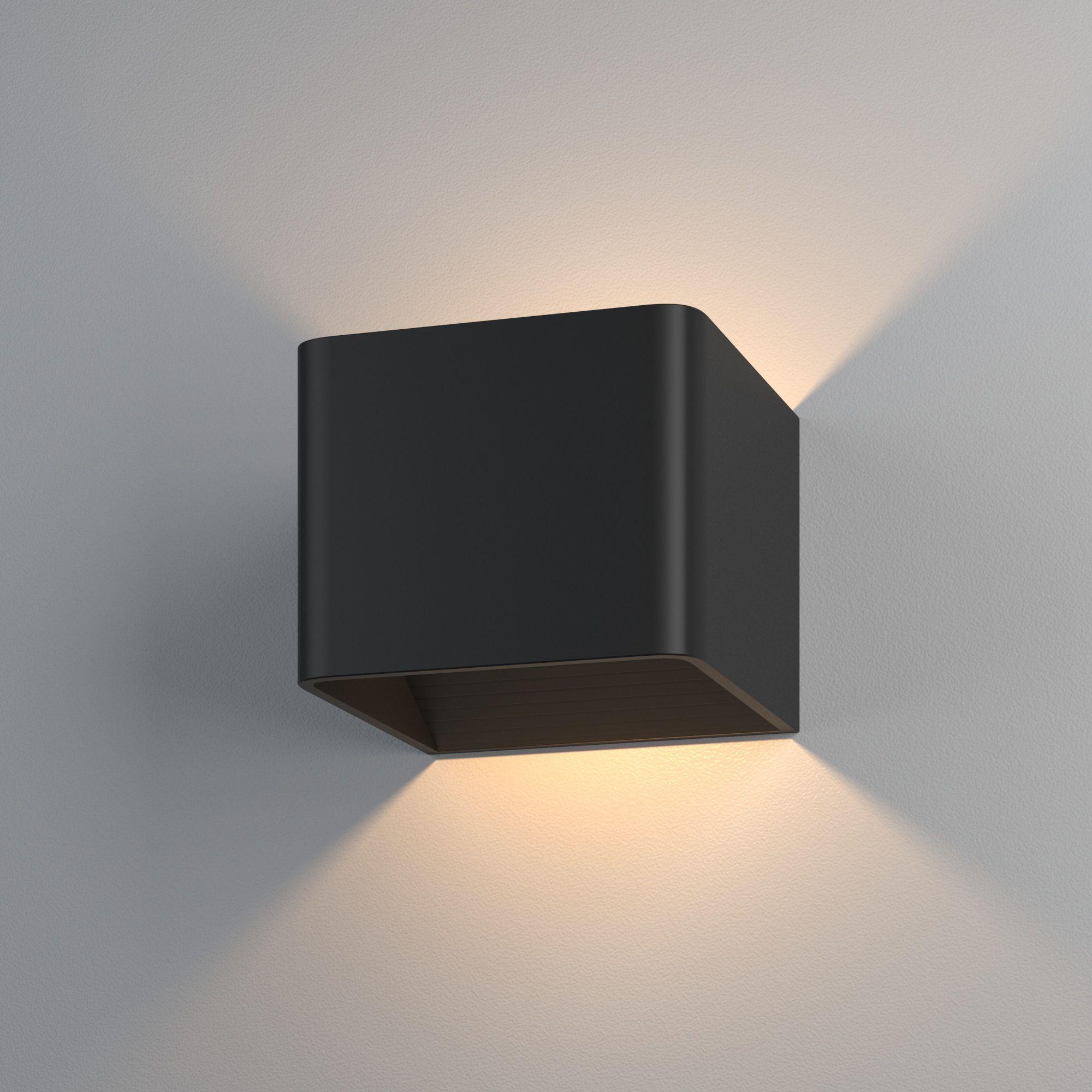 Настенный светодиодный светильник Corudo LED MRL LED 1060 чёрный