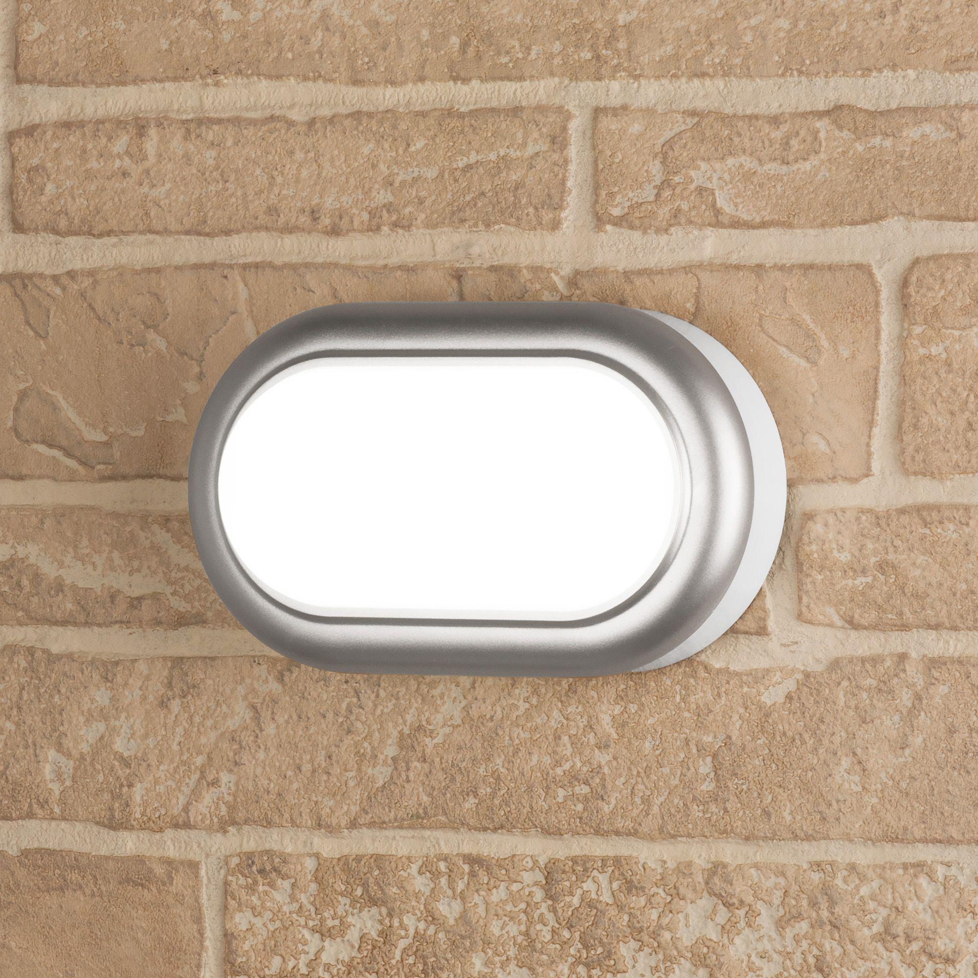 Пылевлагозащищенный светодиодный светильник LTB03824000 8W 54K серебро