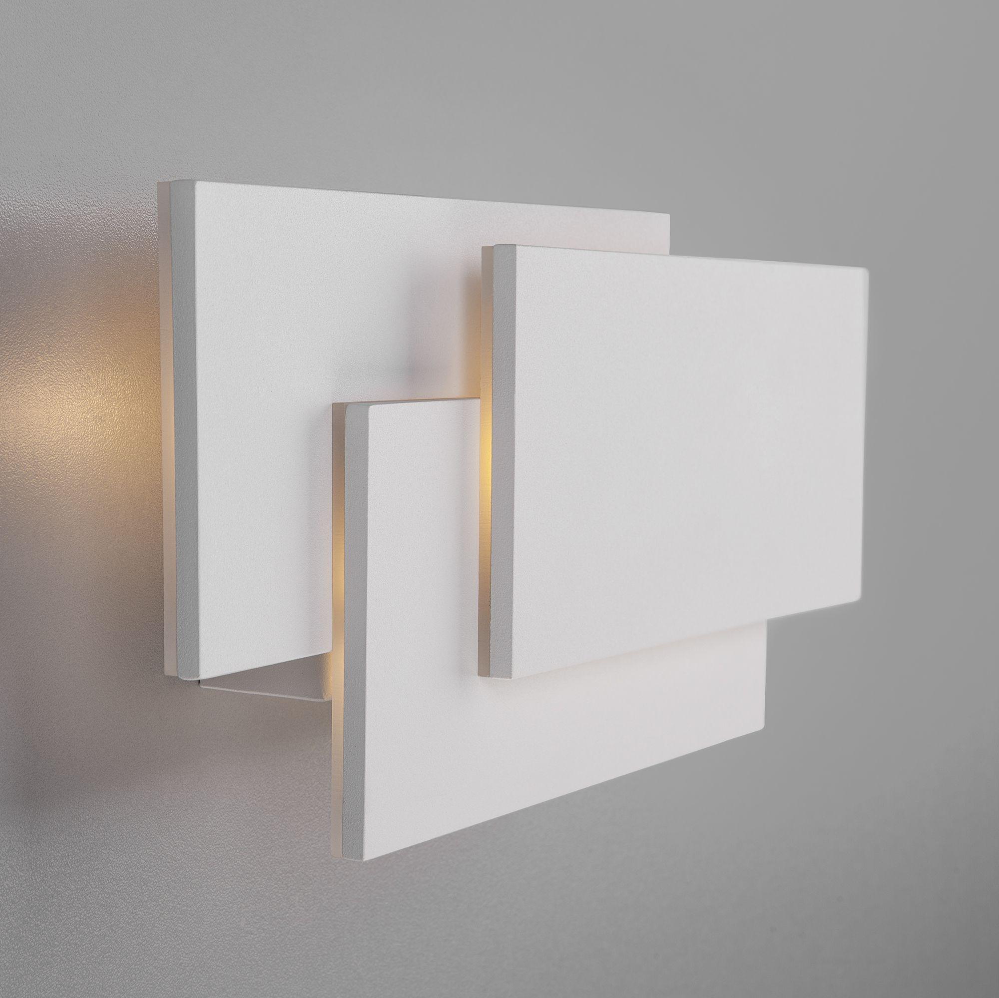 Настенный светодиодный светильник Inside LED MRL LED 12W 1012 IP20 белый матовый