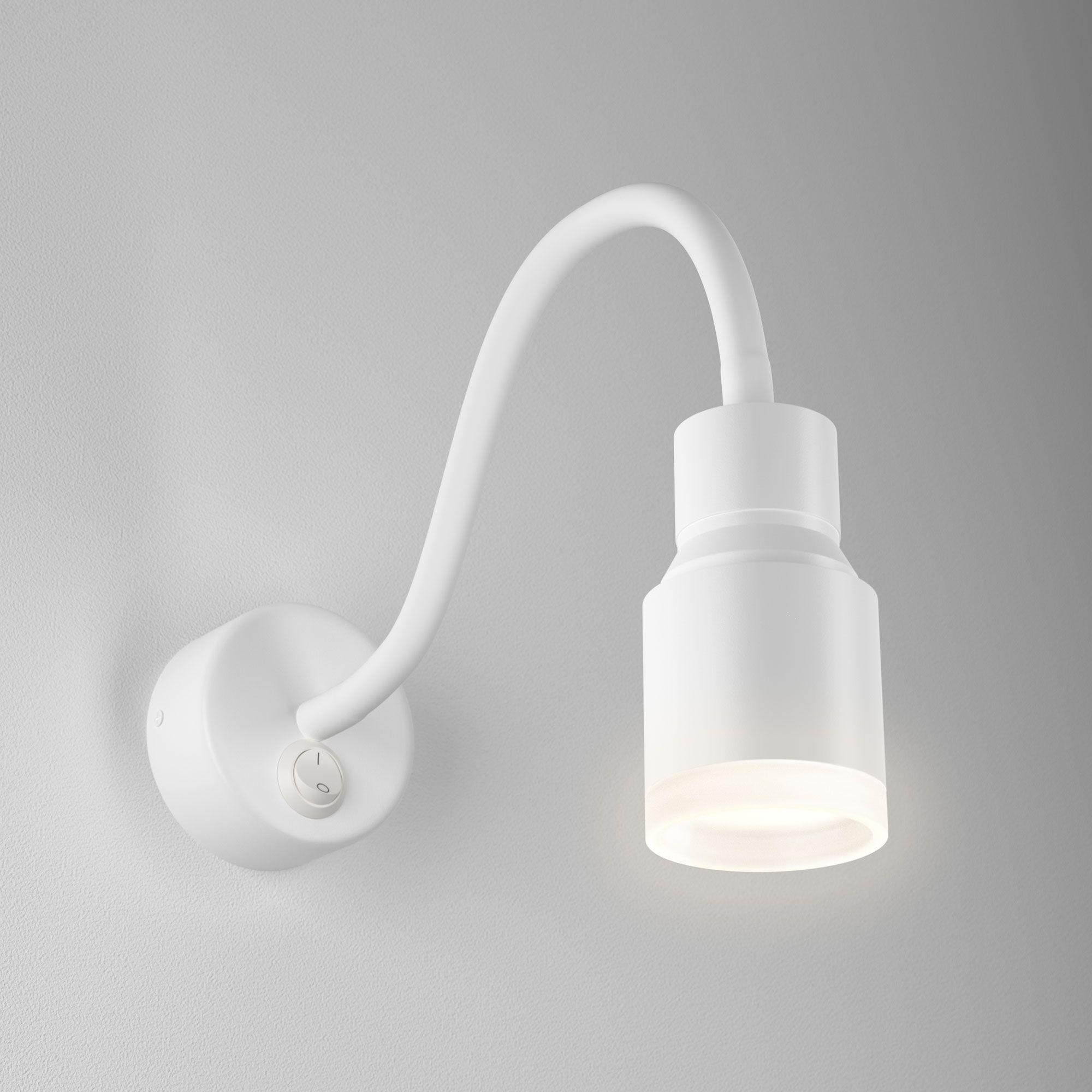 Настенный светодиодный светильник с гибким корпусом Molly LED MRL LED 1015 белый