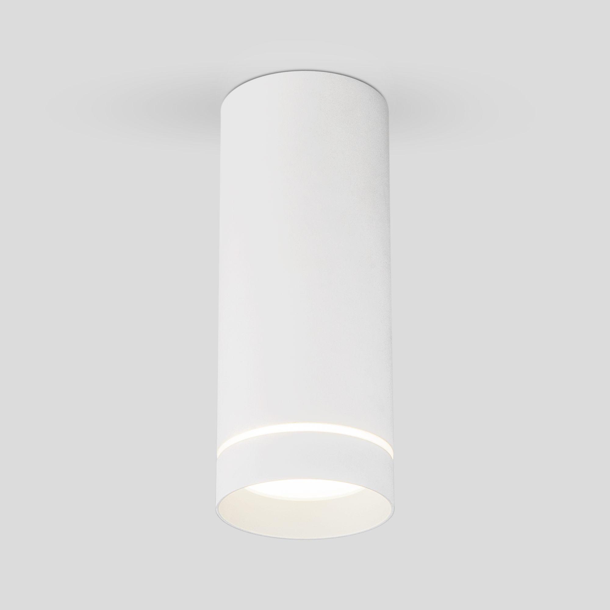 Накладной акцентный светодиодный светильник DLR022 12W 4200K белый матовый