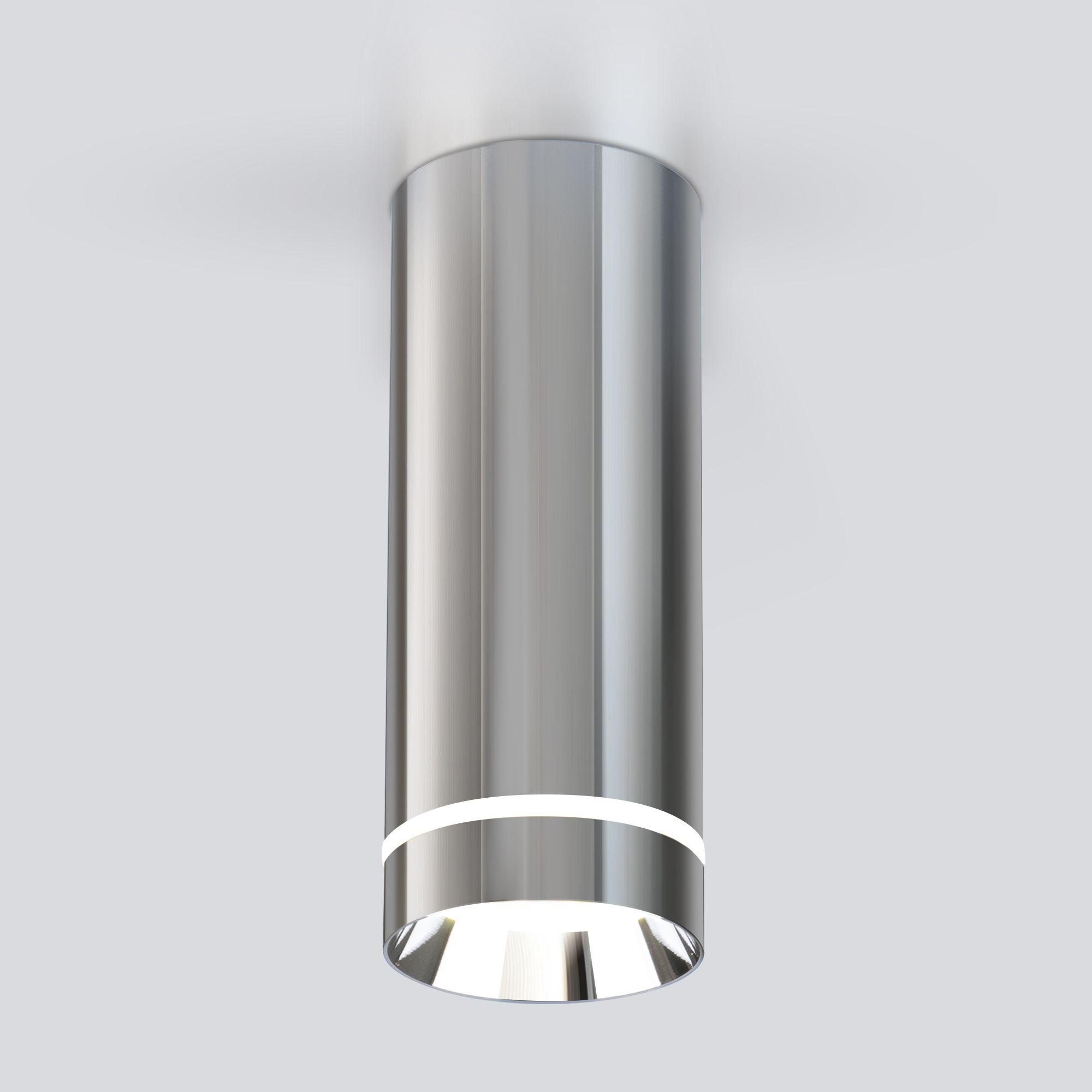 Накладной акцентный светодиодный светильник DLR022 12W 4200K хром