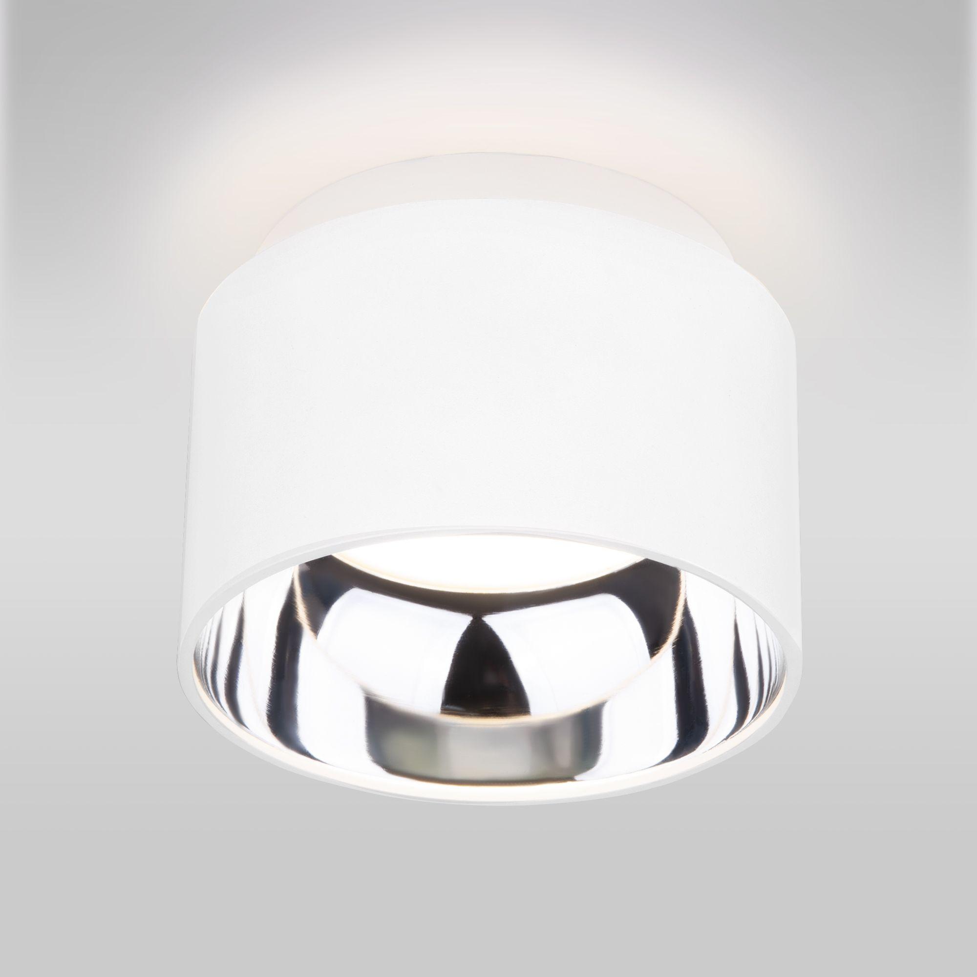 Накладной точечный светильник 1069 GX53 WH белый матовый