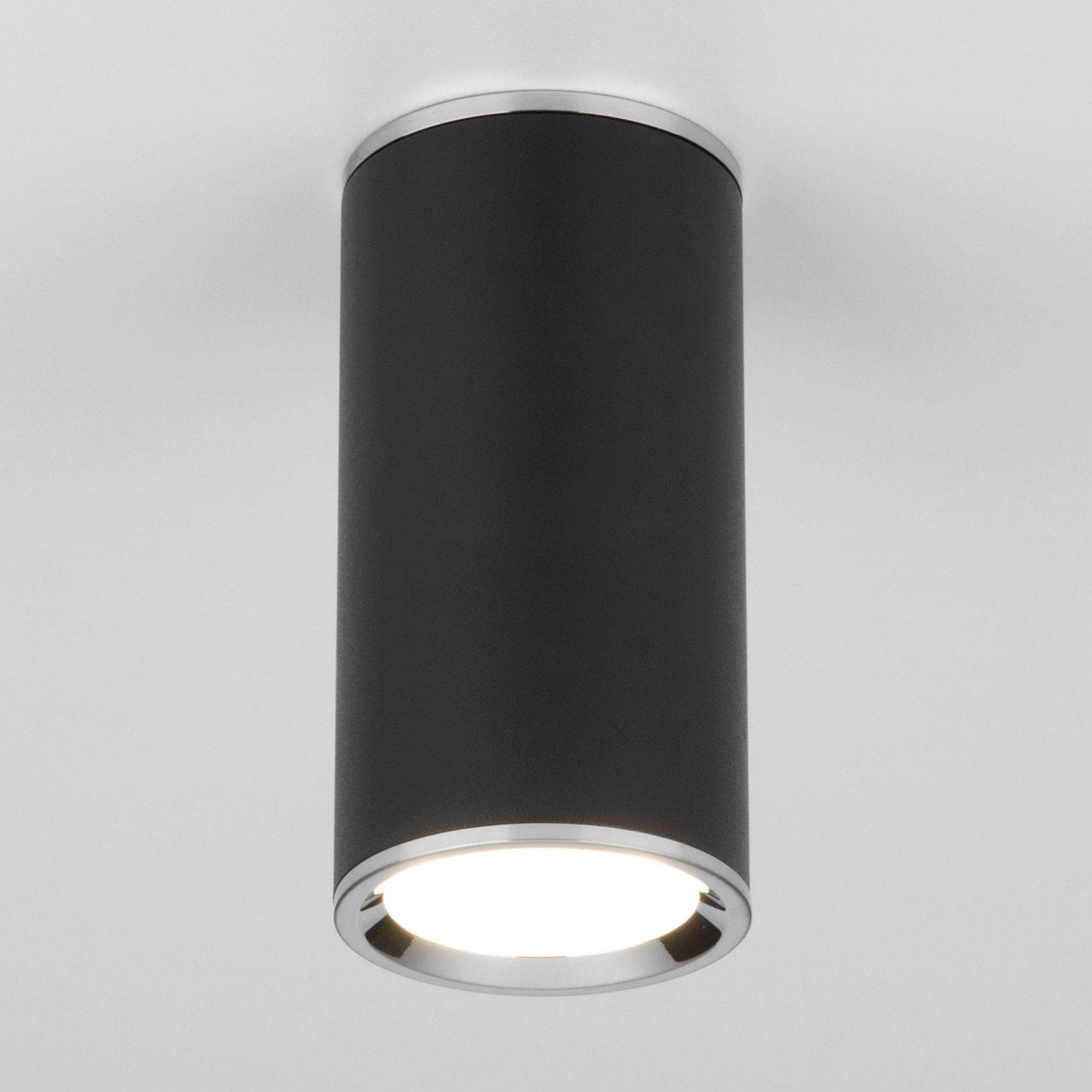 Накладной акцентный светильник DLN101 GU10 BK черный