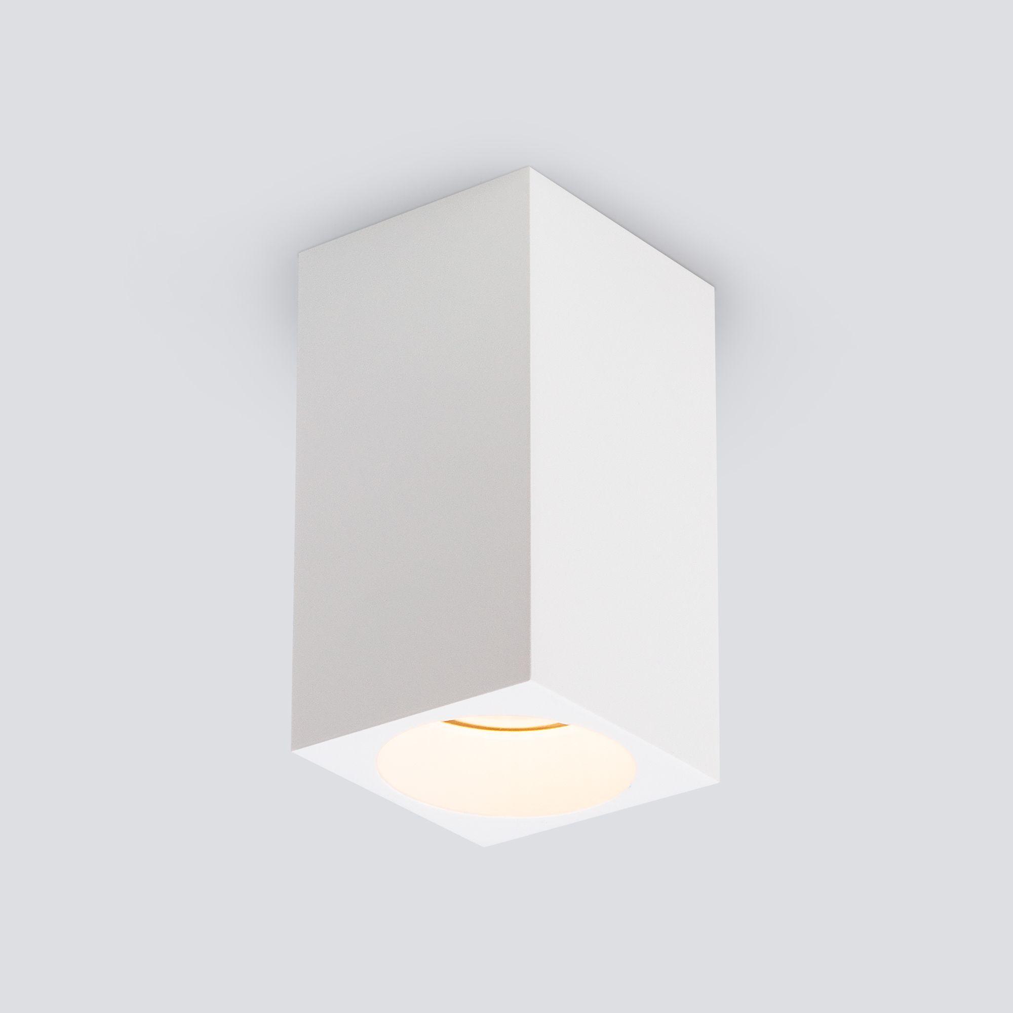 Накладной точечный светильник 1085 GU10 WH белый матовый