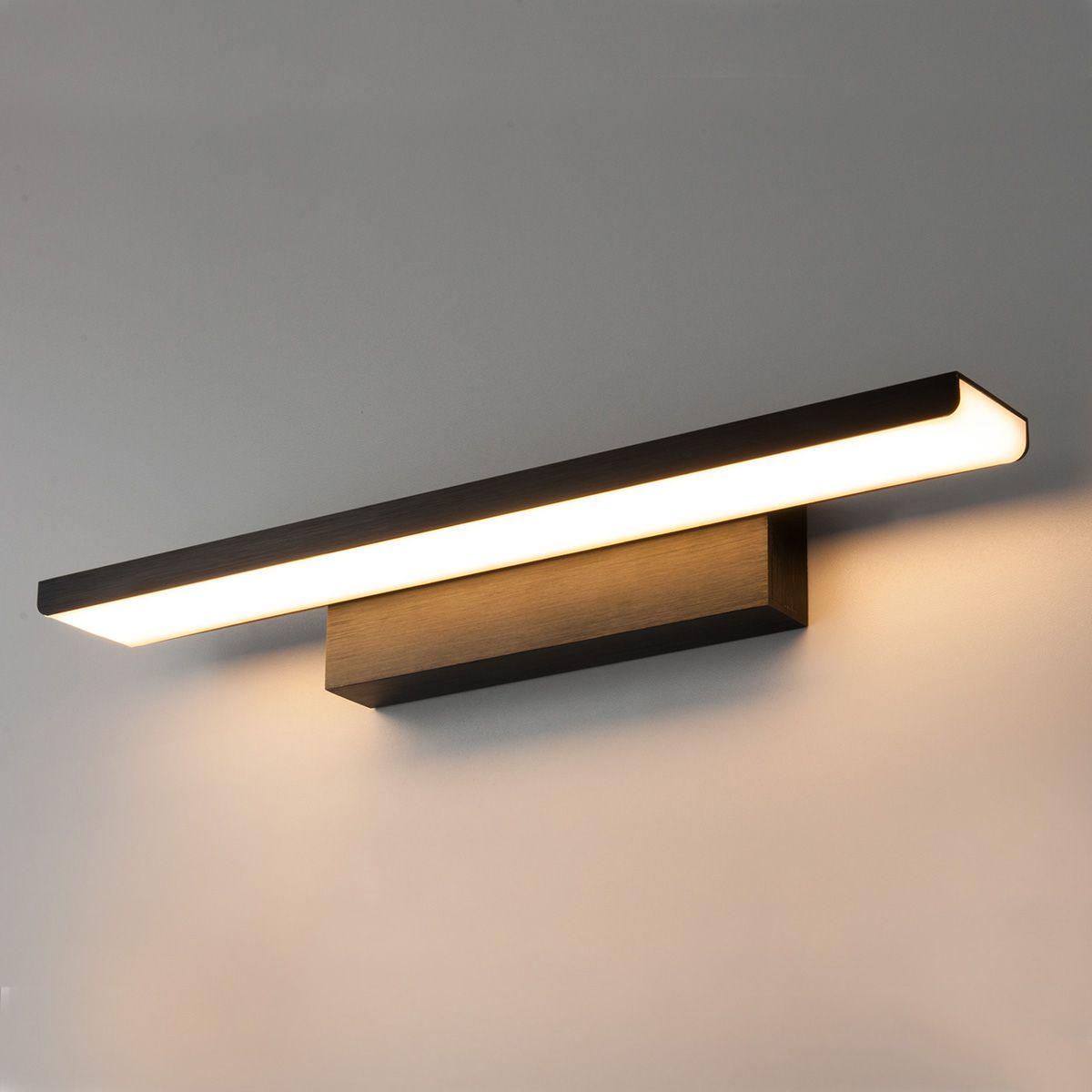 Настенный светодиодный светильник Sankara LED MRL LED 16W 1009 IP20 черный
