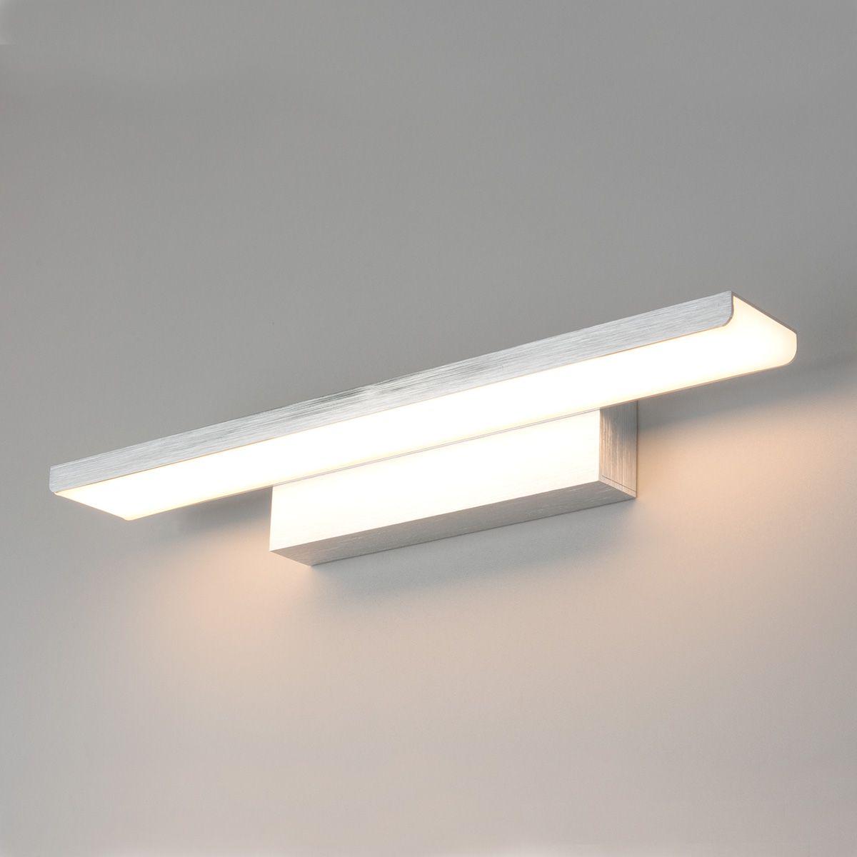 Настенный светодиодный светильник Sankara LED MRL LED 16W 1009 IP20 серебристый