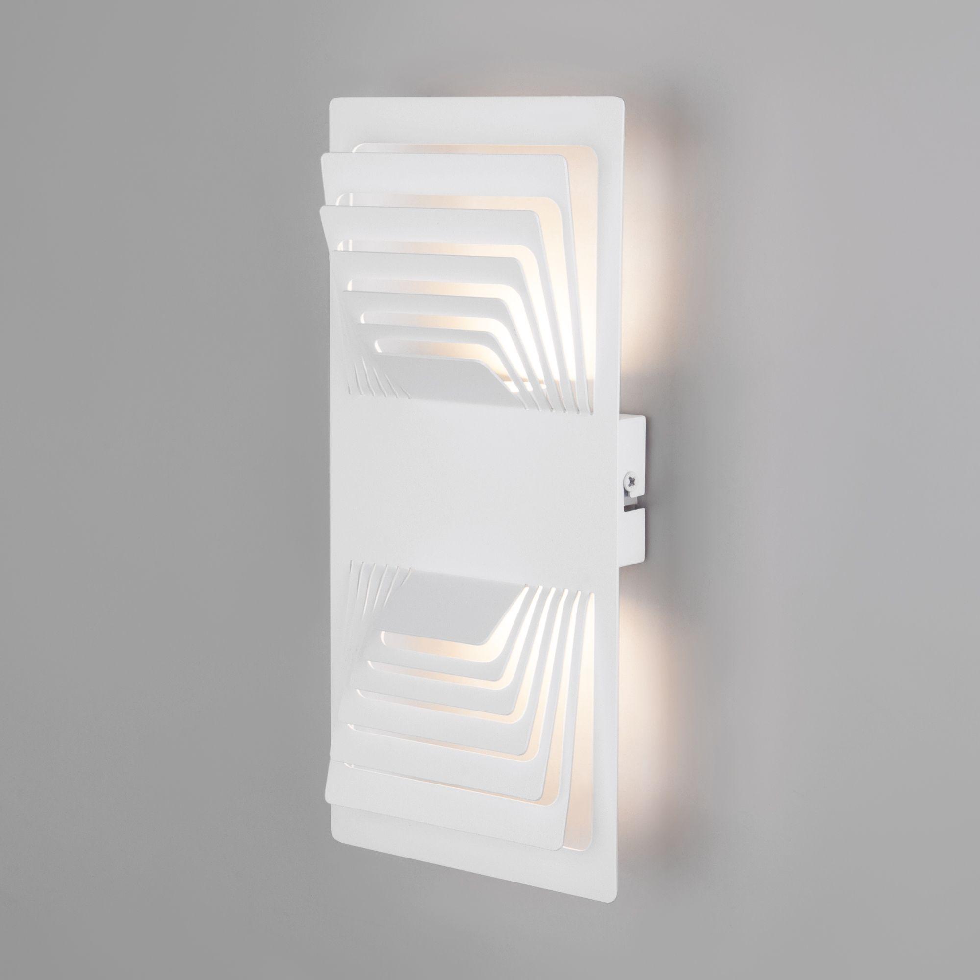 Настенный светодиодный светильник Onda LED MRL LED 1025 белый