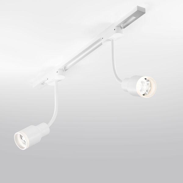 Трековый светодиодный светильник для однофазного шинопровода Molly Flex Белый 7W 4200K LTB38