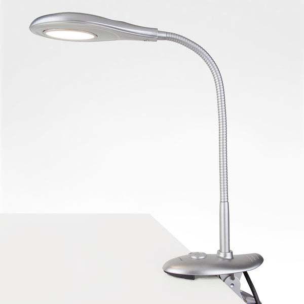 Настольный светодиодный светильник Captor серебряный TL90300