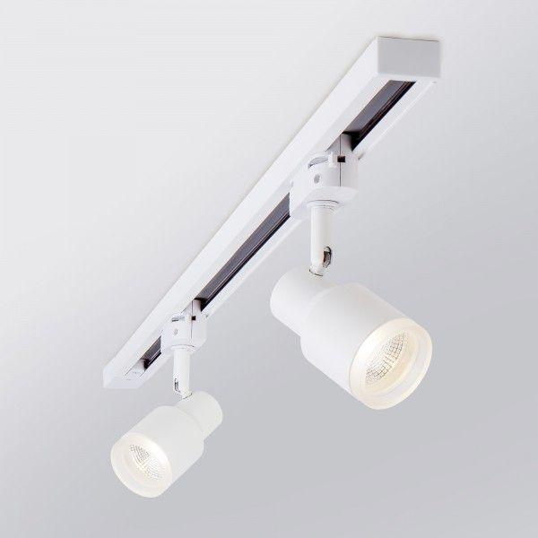 Трековый светодиодный светильник для однофазного шинопровода Molly Белый 7W 4200K LTB31