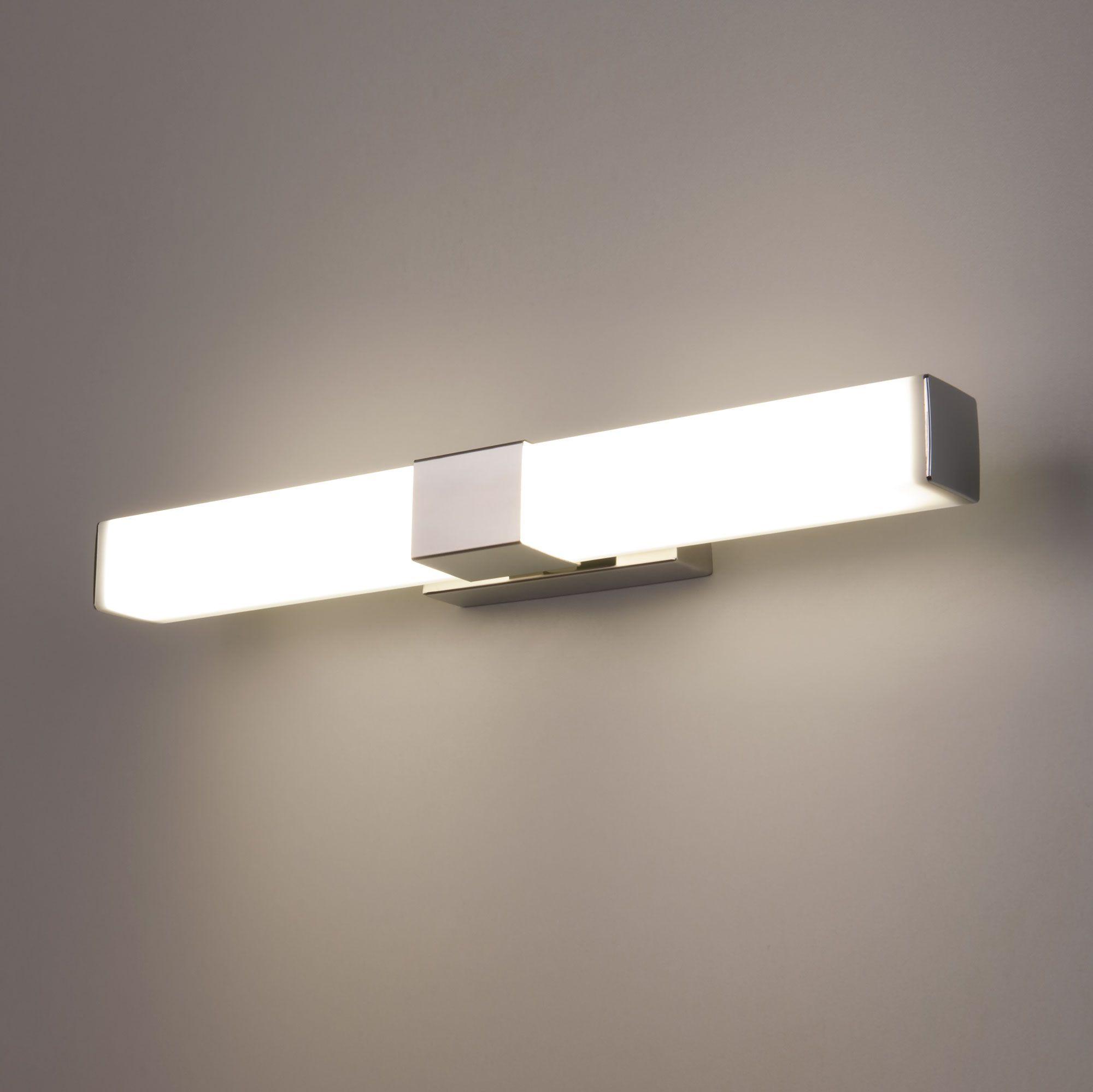 Настенный светодиодный светильник Protera LED MRL LED 1008 хром