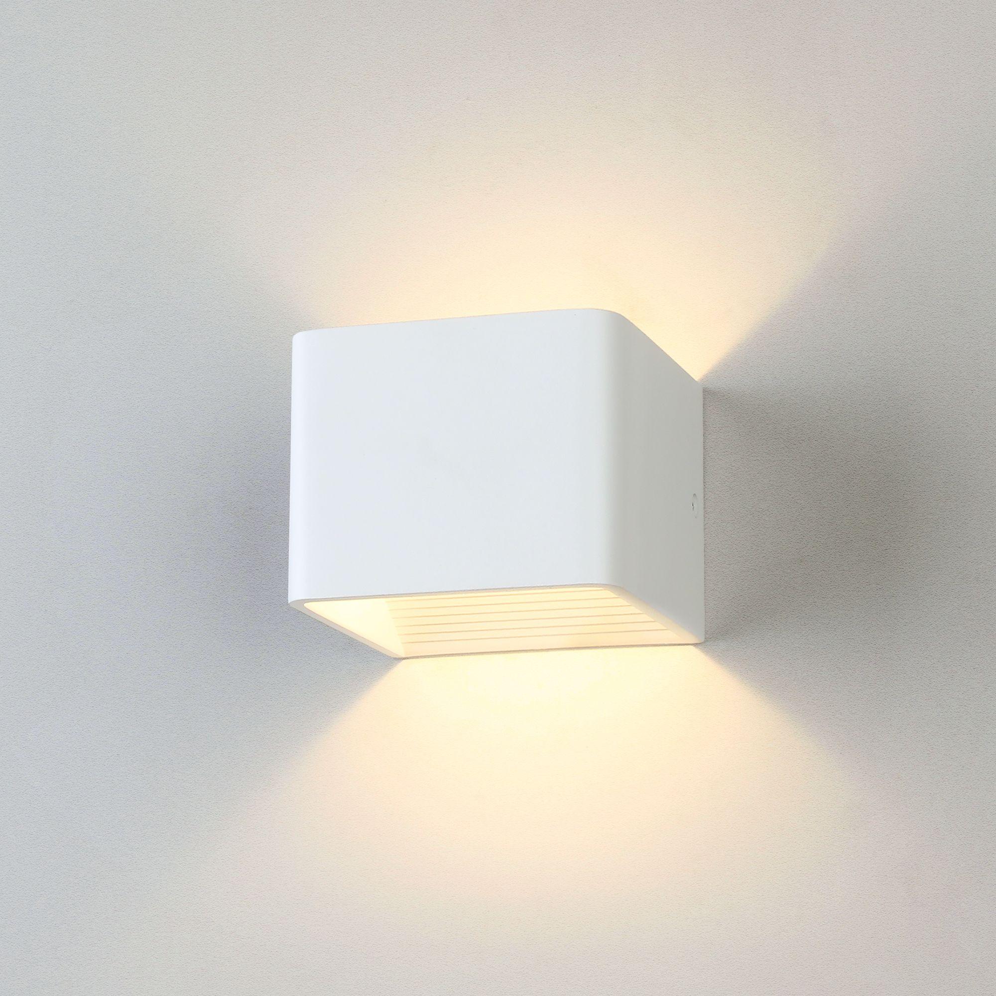 Настенный светодиодный светильник Corudo LED MRL LED 1060 белый