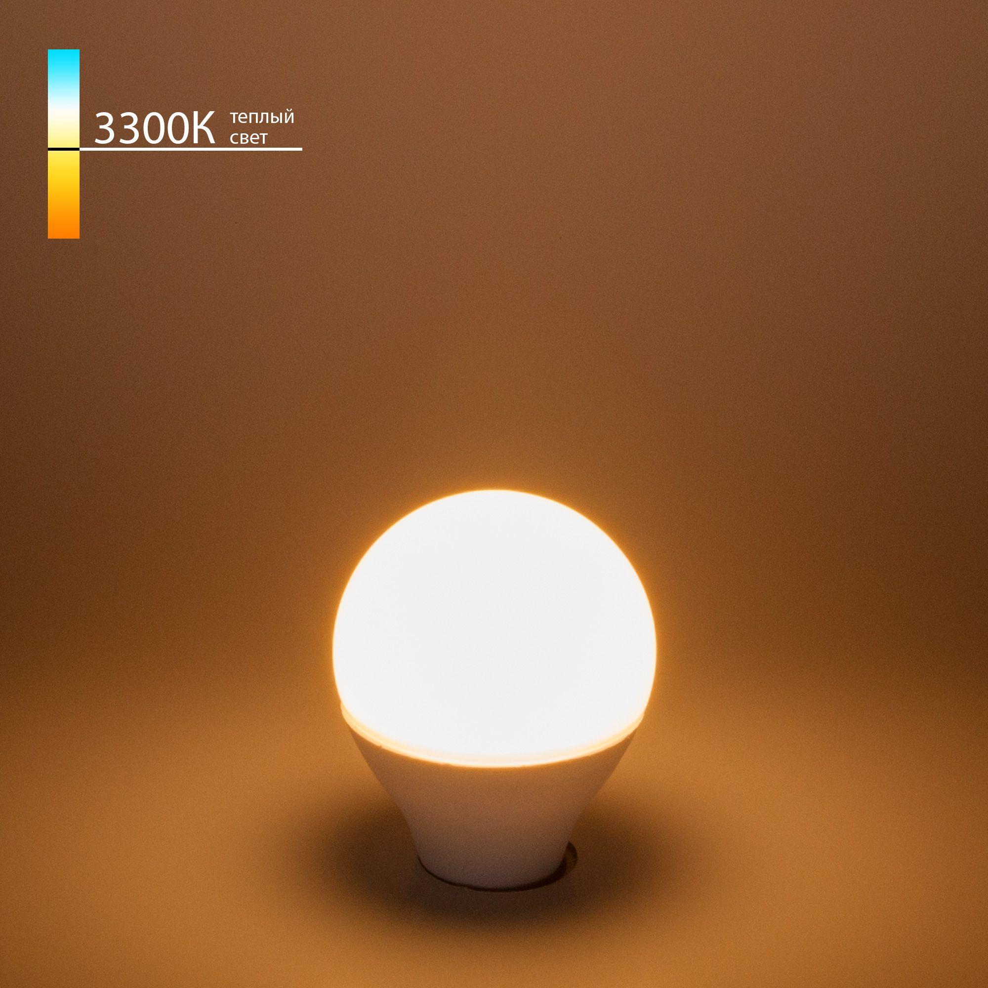 Светодиодная лампа G45 7W 3300K E14 Mini Classic  LED 7W 3300K E14