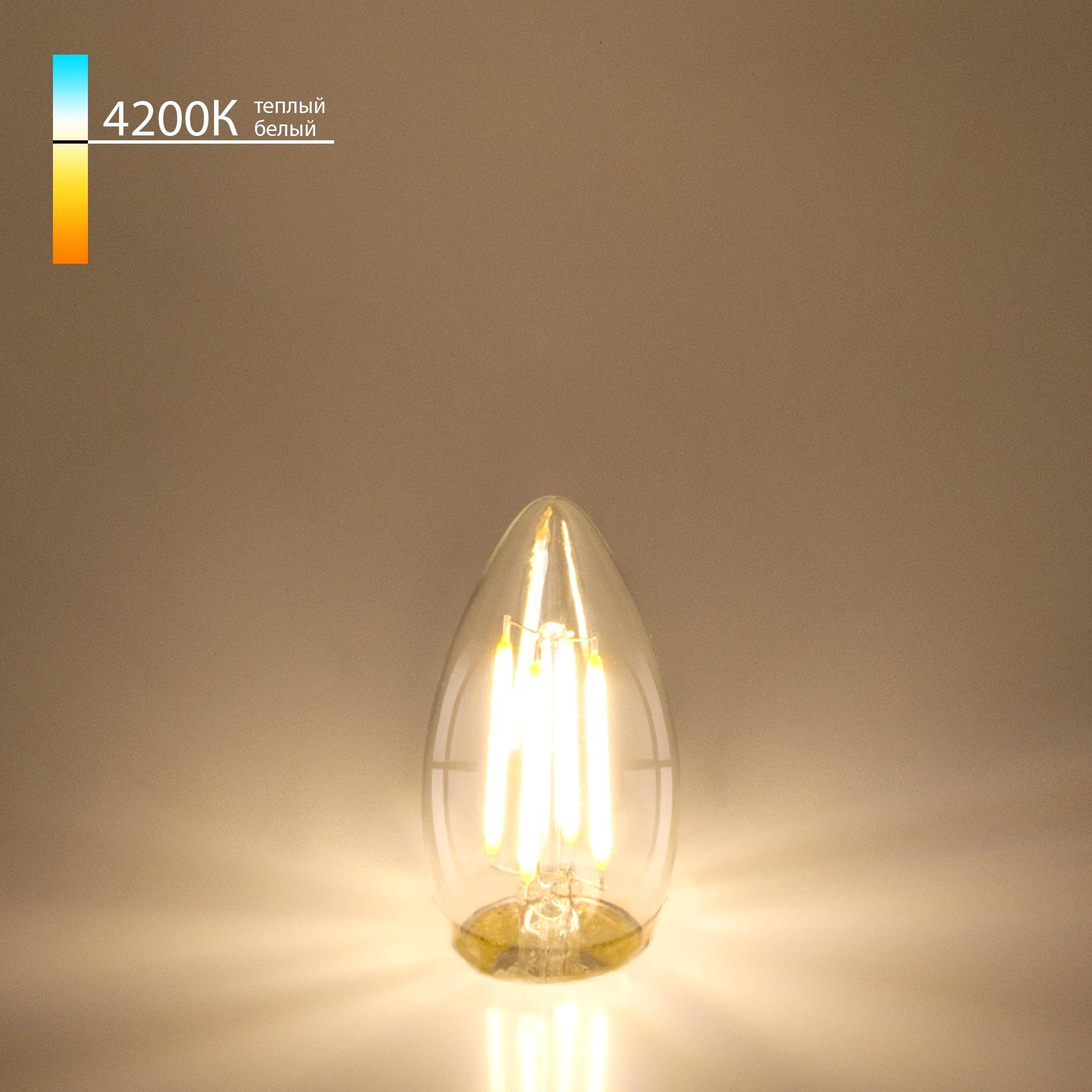 Светодиодная лампа Свеча CD F 7W 4200K E27