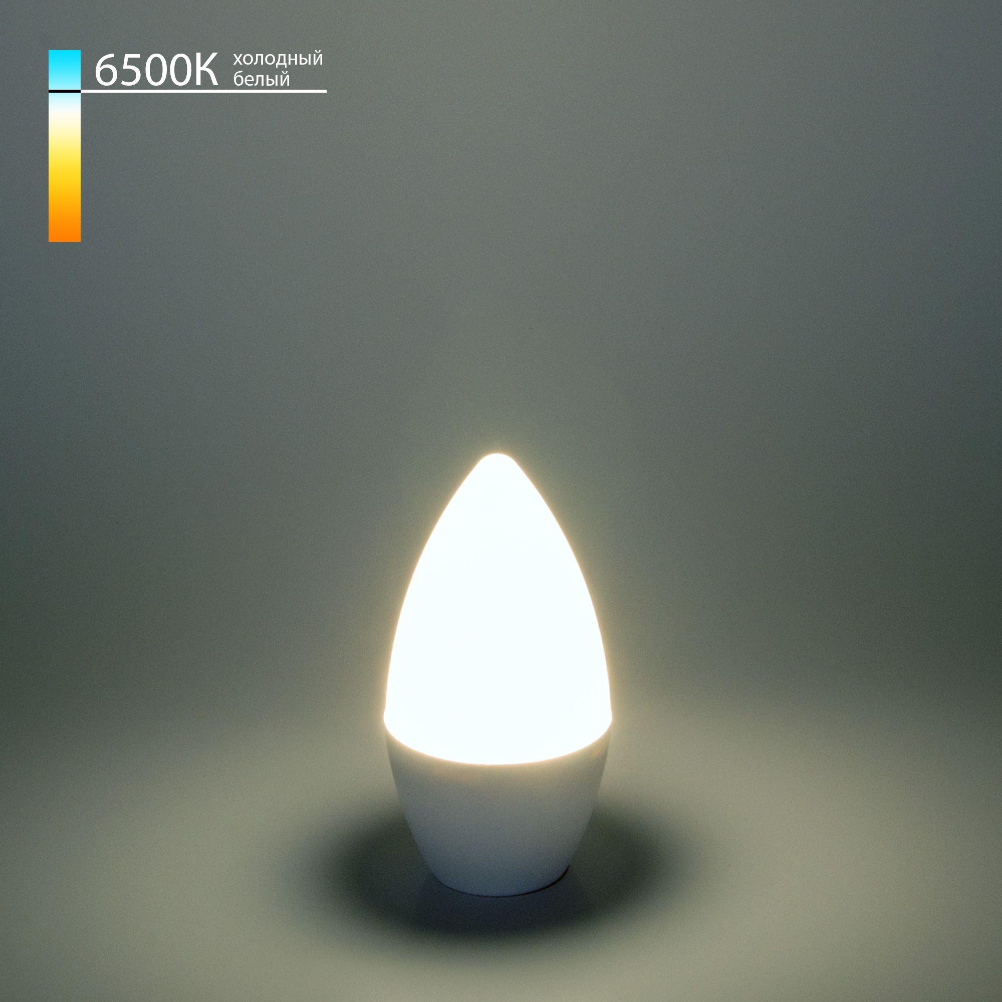 Светодиодная лампа Свеча CD LED 6W 6500K E14