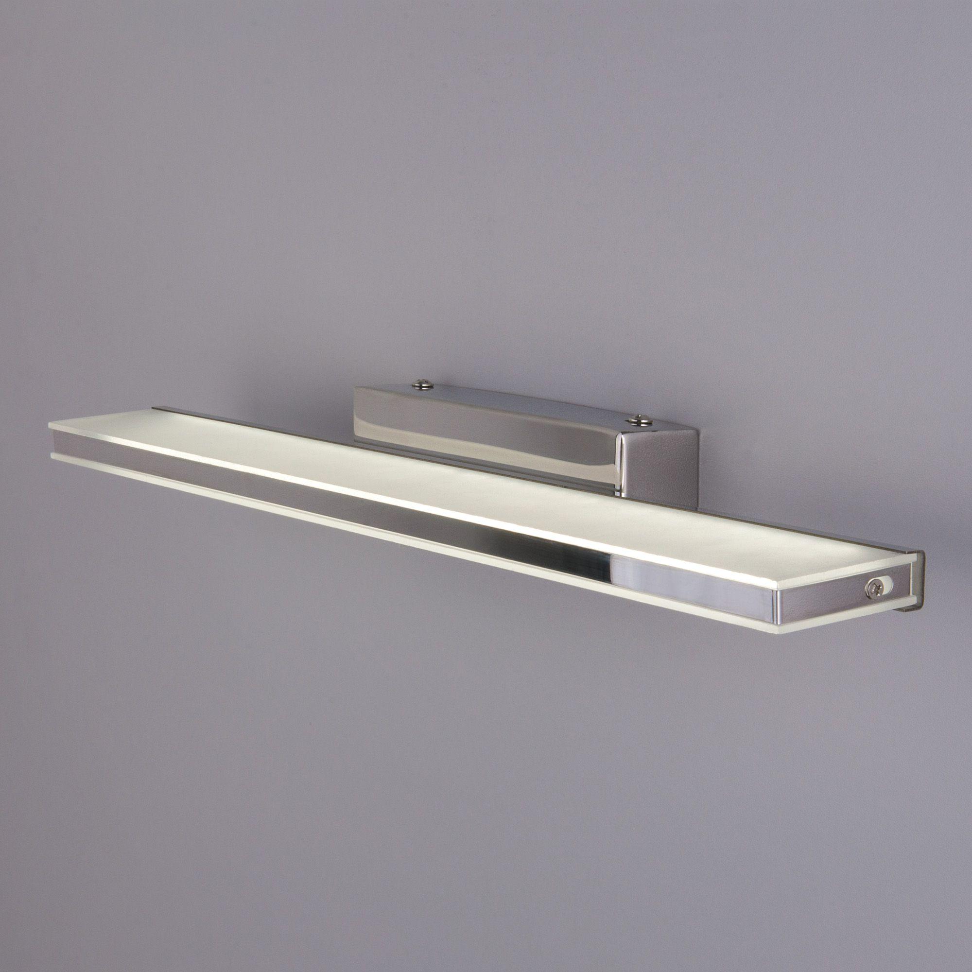 Настенный светодиодный светильник Tabla LED MRL LED 1075 хром