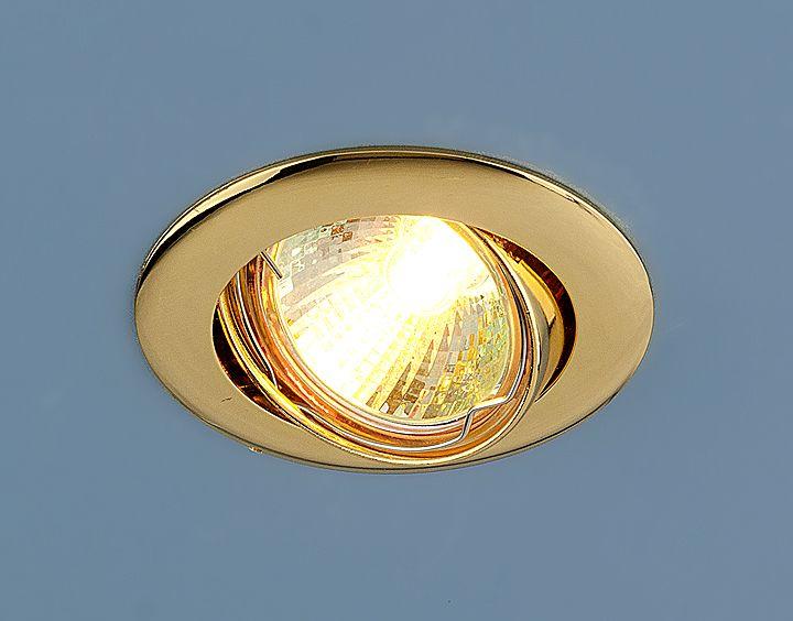 Точечный светильник 104S MR16 GD золото