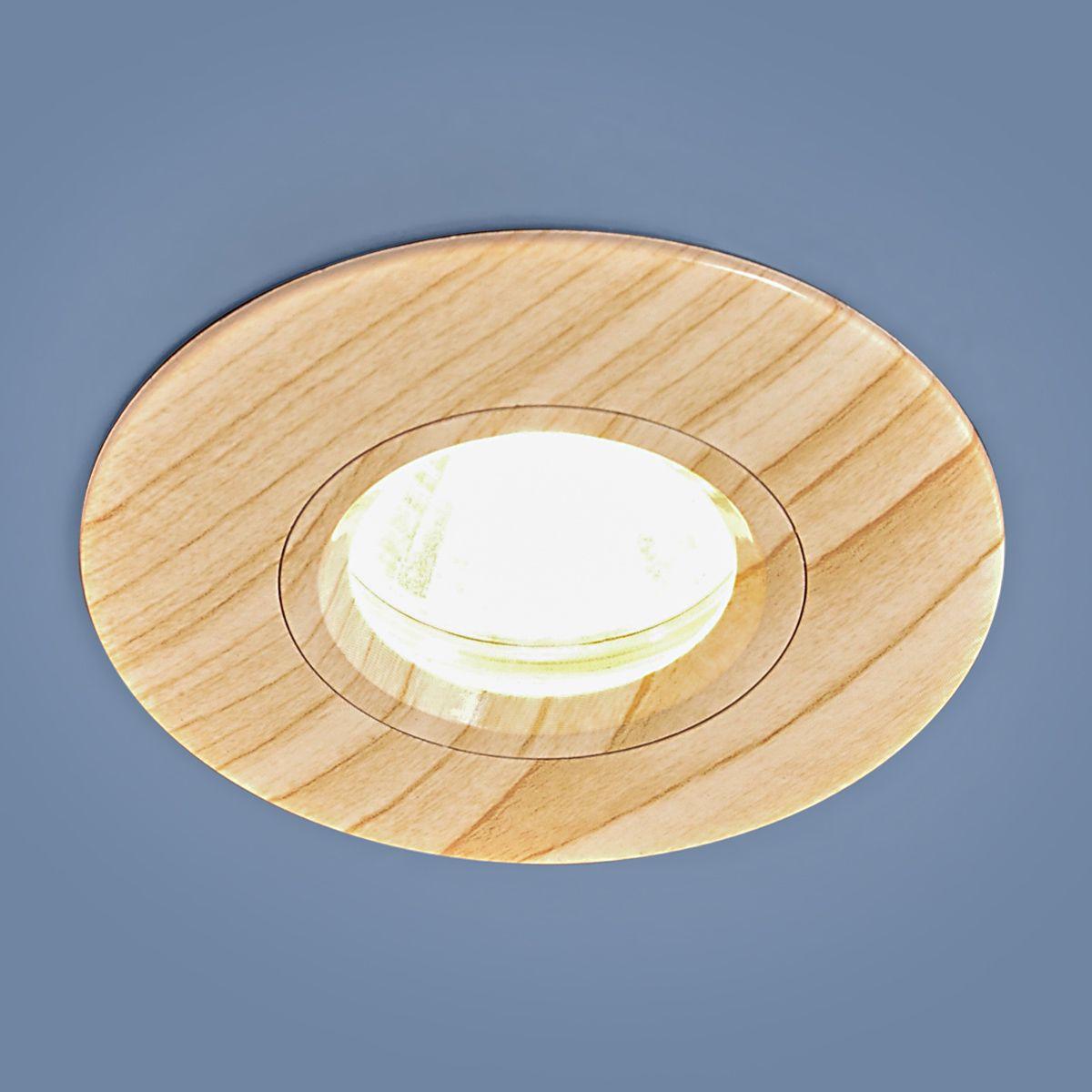 Встраиваемый точечный светильник 108 MR16 BG беленый дуб