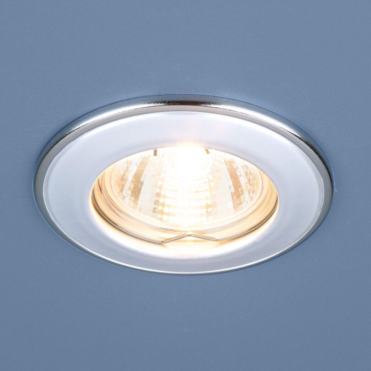 Точечный светильник 7002 MR16 WH/SL белый/серебро