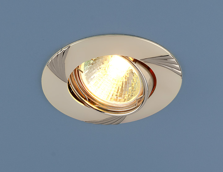 Встраиваемый точечный светильник 8004 MR16 PS/N перл.серебро/никель