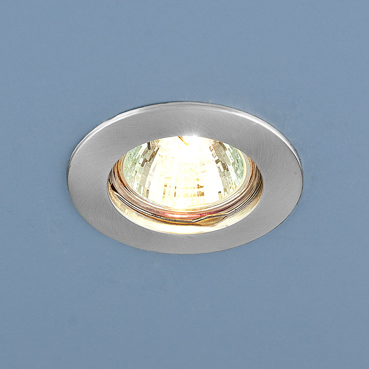 Точечный светильник 863 MR16 SCH хром сатинированный