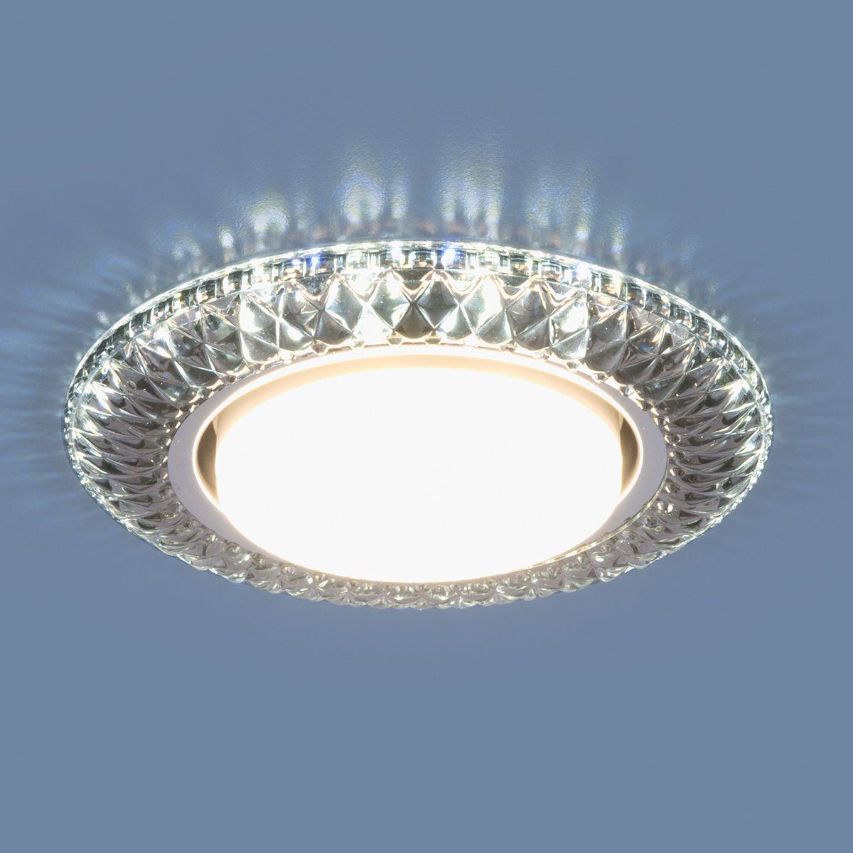 Точечный светильник со светодиодами 3020 GX53 SB дымчатый