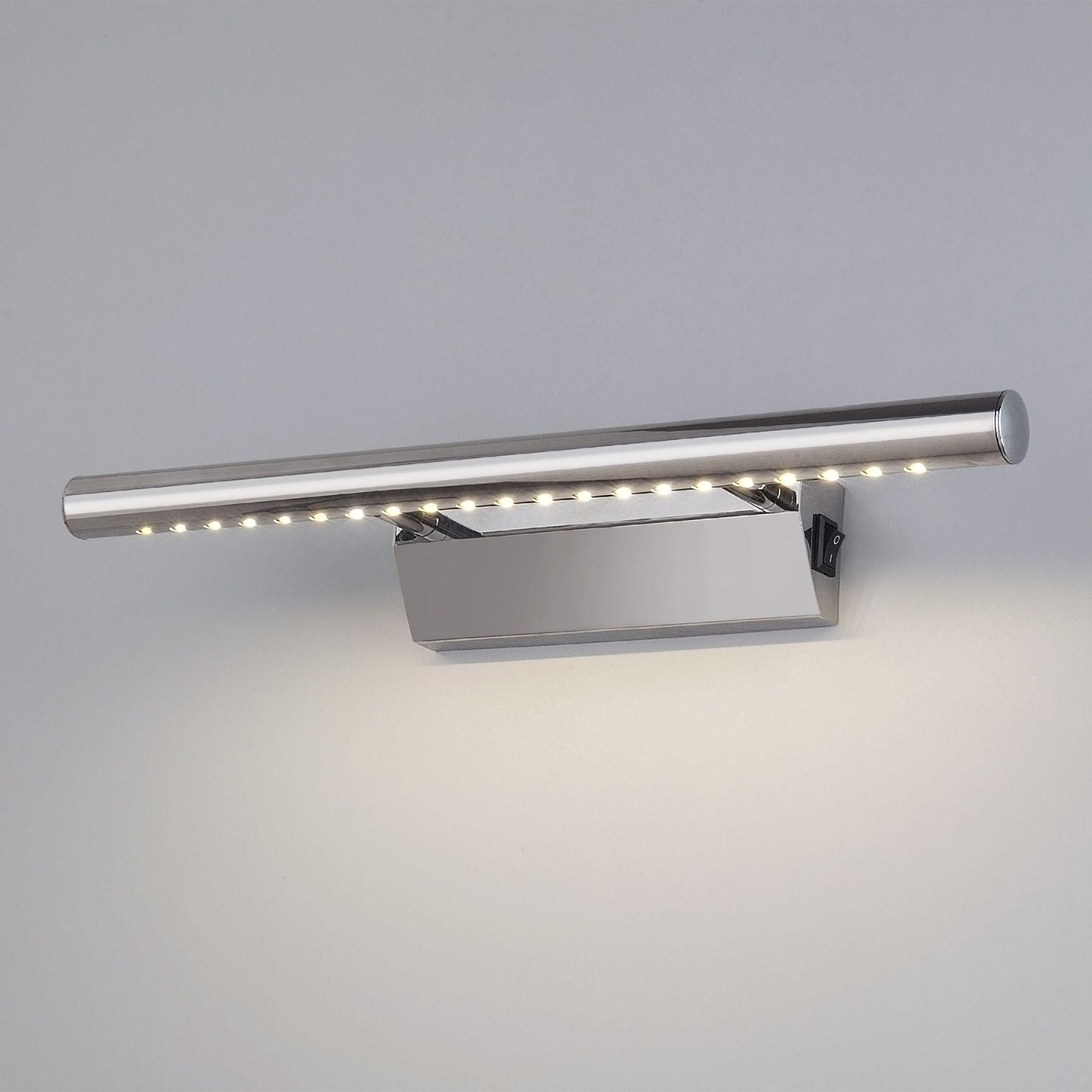 Настенный светодиодный светильник Trinity Neo SW LED MRL LED 1001 хром