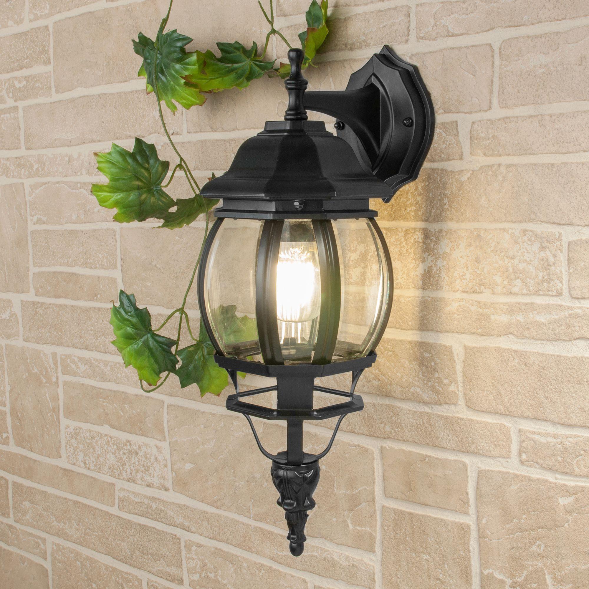 Уличный настенный светильник GL 1001D черный
