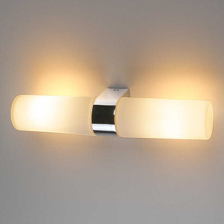 Настенный светильник Round 2 х 42W 1242 AL14 хром
