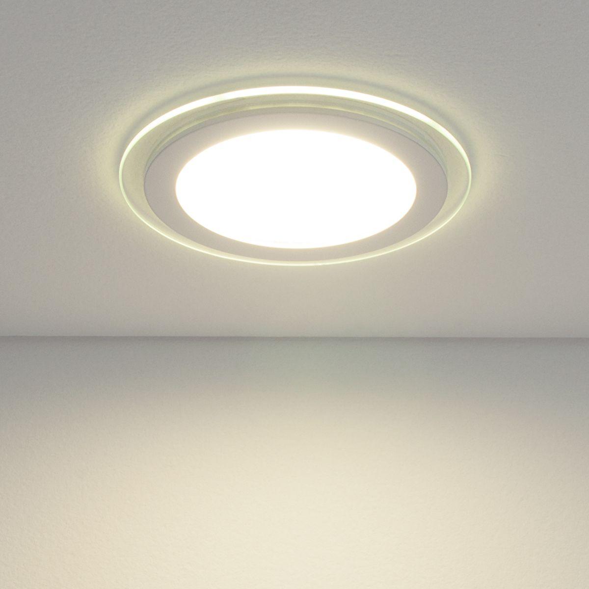 Встраиваемый светодиодный светильник DLKR160 12W 4200K белый